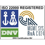 ISO 22000 REGISTERED DNV Certification BV